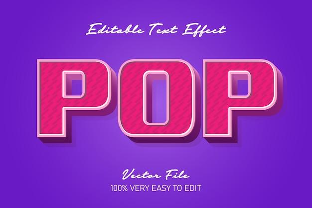 Czerwony efekt pop tekstu