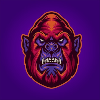 Czerwony goryl