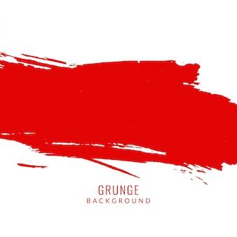 Czerwony kolor grunge plama tle