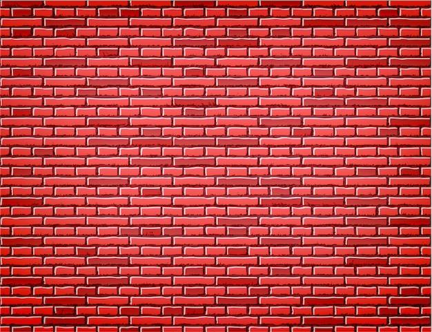 Czerwony ściana z cegieł tekstury tła projekt
