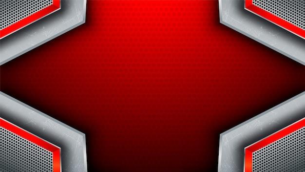 Czerwony stal streszczenie tło