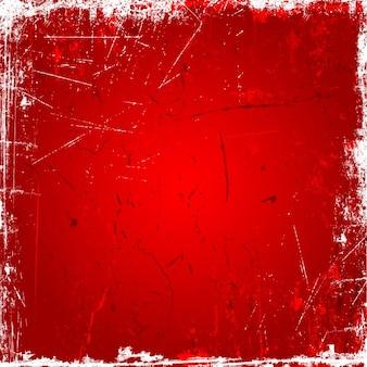 Czerwonym tle grunge