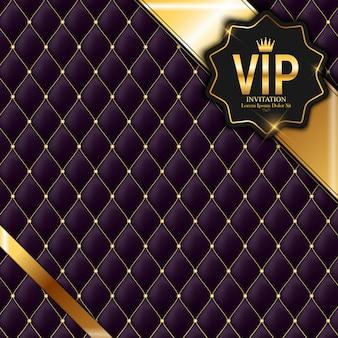 Członkowie luksusowi, tło zaproszenie karty upominkowej vip