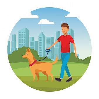 Człowiek i pies
