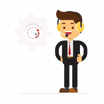 Człowiek obsługi klienta