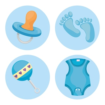 Cztery ikony dla dzieci