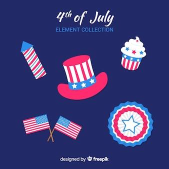 Czwarta kolekcja elementów lipca