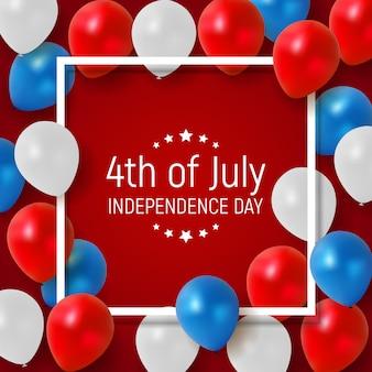Czwarty lipca, dzień niepodległości stanów zjednoczonych.