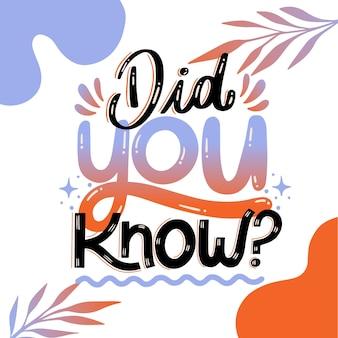 Czy wiedziałeś...? literowanie
