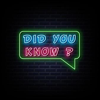 Czy wiesz, że neony zaprojektuj szablon neonowy znak