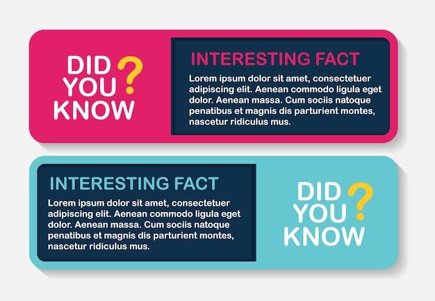 Czy wiesz, że zestaw naklejek na ciekawe fakty?