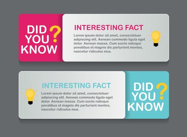 Czy wiesz, że zestaw naklejek z ciekawymi faktami.