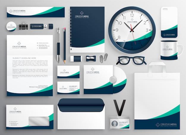Czyste materiały biurowe dla twojej marki