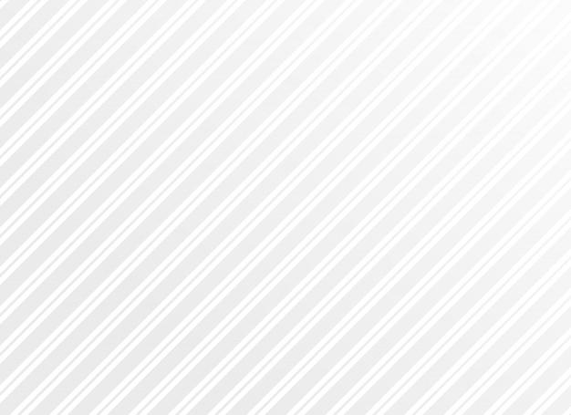 Czyste minimalne białe paski wektor wzór tła
