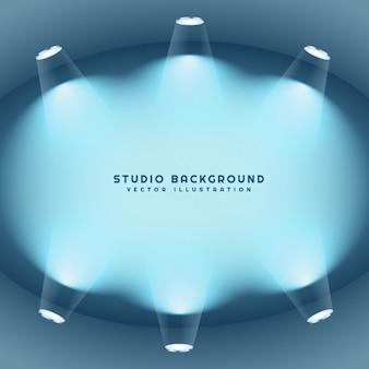 Czyste studio światła tła