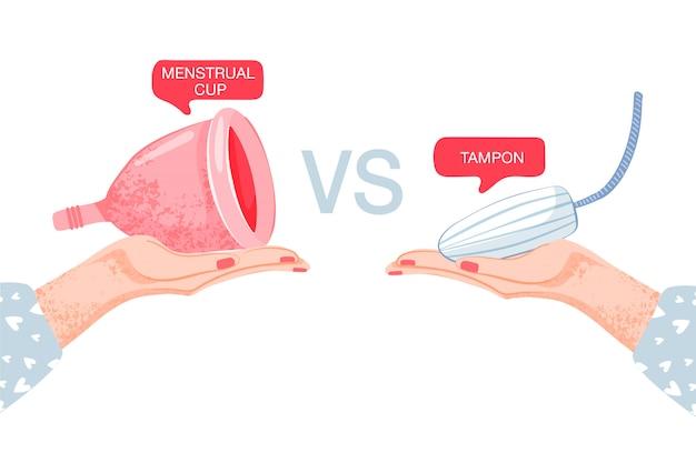 Damska higiena. tampony vs kubek menstruacyjny