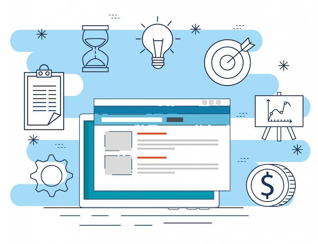 Dane strony internetowej do strategii zakładu biznesowego