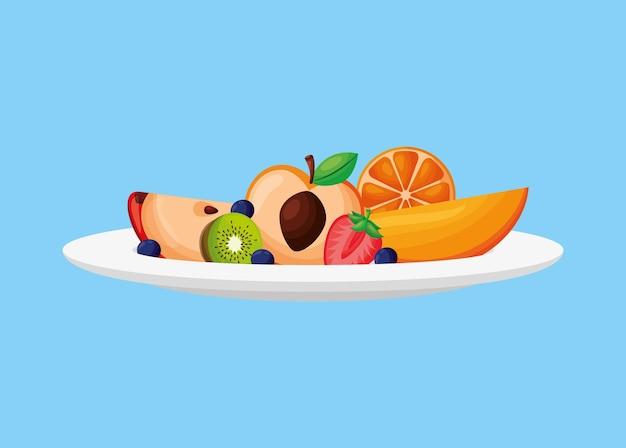 Danie z owocami