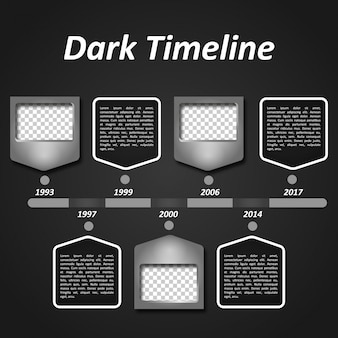 Dark timeline