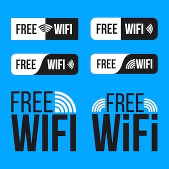 Darmowe wi-fi, sieć bezprzewodowa dla darmowego dostępu wlan.