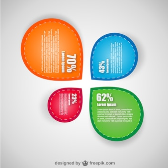 Darmowe zakupy infografika projekt