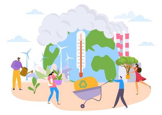Dbaj o koncepcję ekologii ziemi