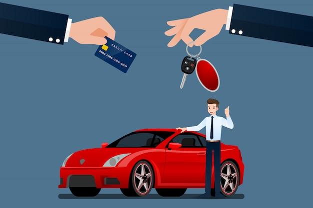 Dealer samochodów.