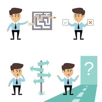 Decyzja poszukiwania biznesmena