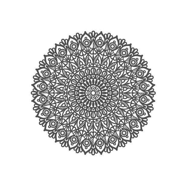 Dekoracyjna ilustracja projektu mandali