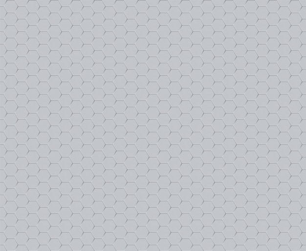 Dekoracyjna technologia futurystyczny sześciokąt jednolity wzór