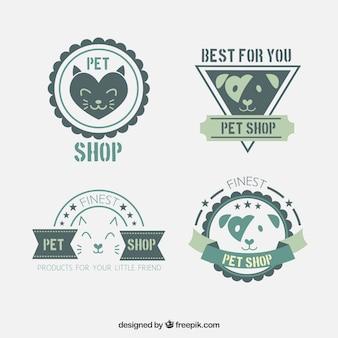 Dekoracyjne naklejki dla sklepu zoologicznego
