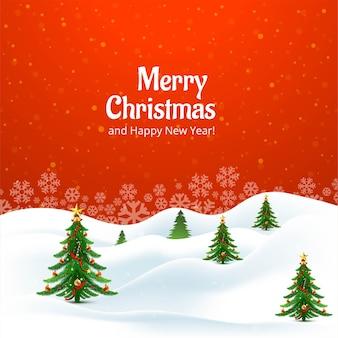 Dekoracyjne tło kartki świąteczne choinki