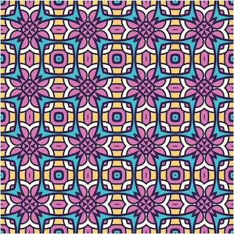 Dekoracyjne tło motyw etniczny wzór