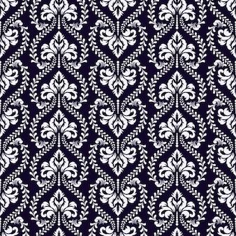Dekoracyjny wzór adamaszku