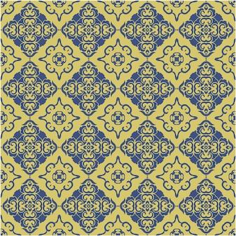 Dekoracyjny wzór w stylu abstrakcyjnym i batikowym