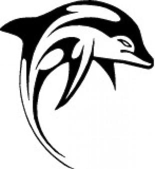 Delfin kliparty