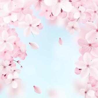 Delikatny kwiatowy wzór.