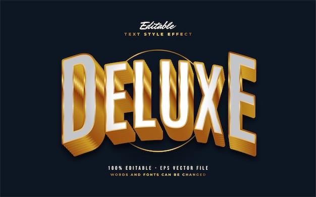Deluxe efekt edytowalnego stylu tekstu