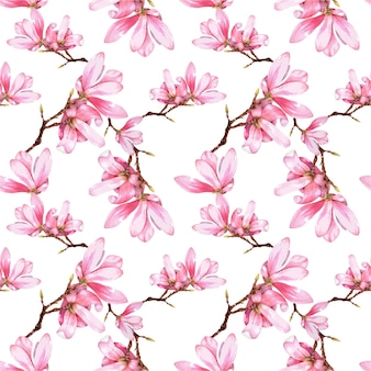 Deseń kwiatu akwarele
