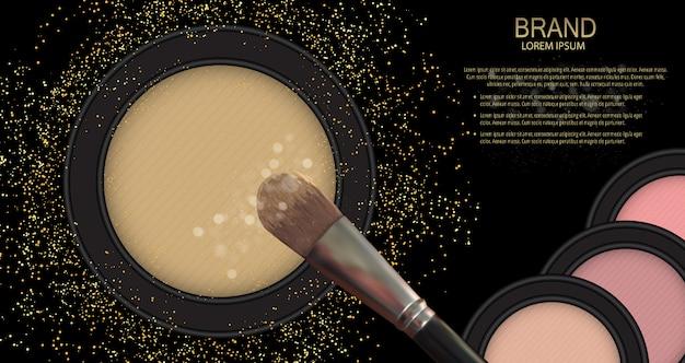 Design kosmetyki produkt. realistyczny 3d