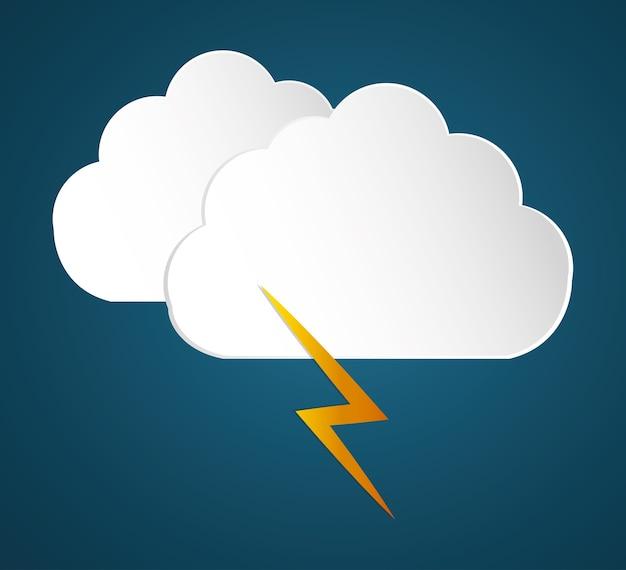 Deszcz ikona designu