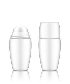Dezodorant w butelce rolkowej lub krem, serum, olejek eteryczny z zakrętką