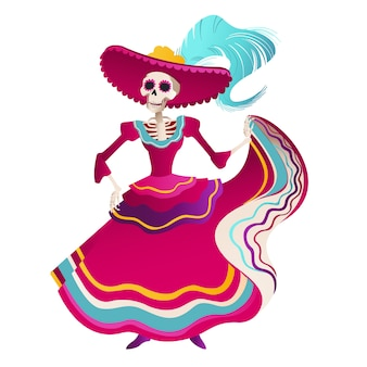 Dia de los muertos holiday party.