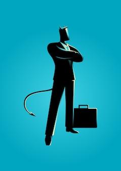 Diabeł jako biznesmen