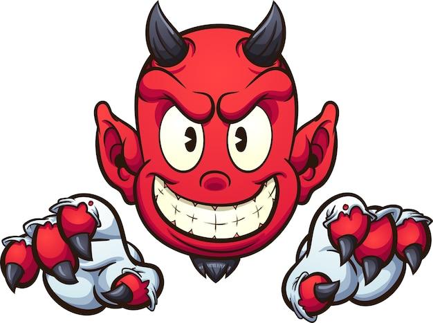 Diabeł kreskówka