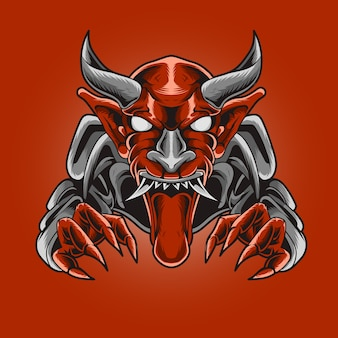 Diabelski potwór z kłem