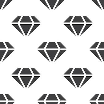 Diament, wektor wzór bez szwu, edytowalny może być używany do tła stron internetowych, wypełnienia deseniem