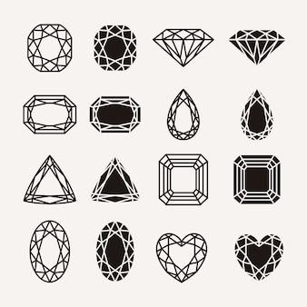 Diamentowe ikony