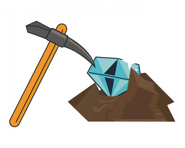 Diamentowe wydobycie i odbiór
