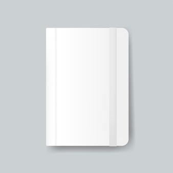 Diary pokrycie projekt makieta wektor